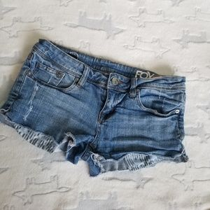 Fox Jean Cut Off Shorts